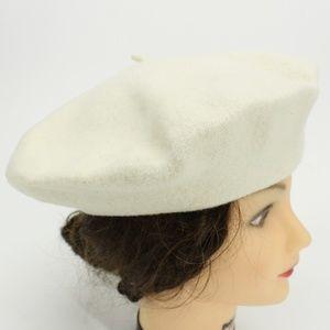 Vintage Beret Basque 100% Wool Beret Hat